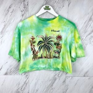Vintage Hawaiian Cropped T-Shirt